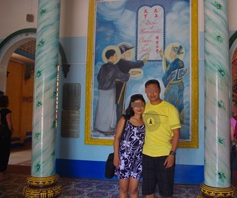Cao Dai temple (5)