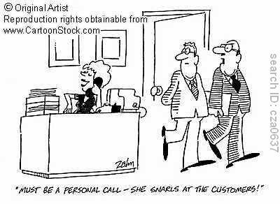 how to be good customer service representative