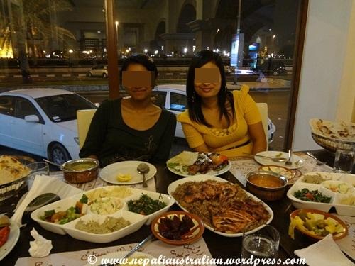 Sharjah Dhow Restaurant Menu