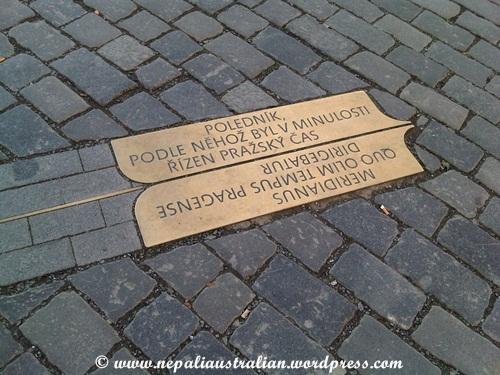 Prague meridian