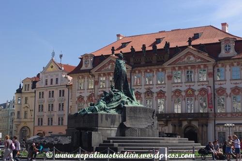 The Jan Hus Memorial