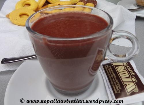 Hot chocolate, cioccolata calda