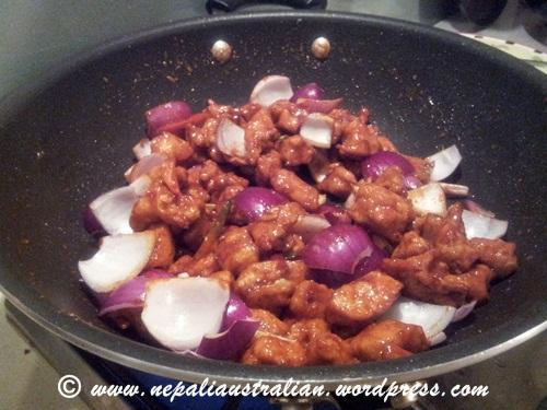How To Make Chicken Chili Nepali Style Nepaliaustralian