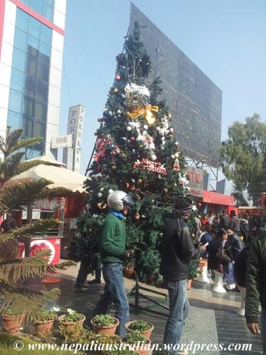 xmas in kathmandu