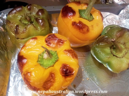 Stuffed capsicum (10)