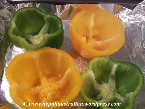 Stuffed capsicum (3)