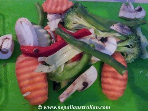 Thai red chicken curry (4)