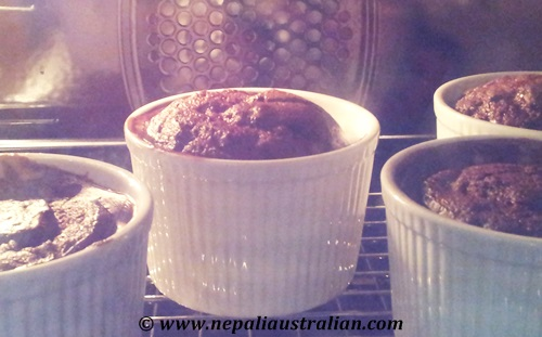 Chocolate self-saucing pudding (6)