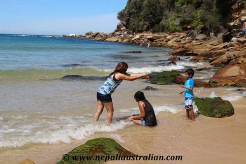 Wattamolla Beach  (1)