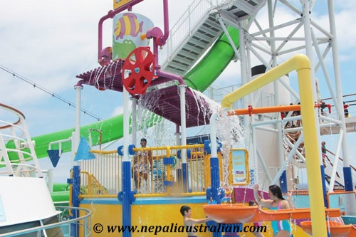 Water Park and Green Thunder on board Carnival Cruise (11)