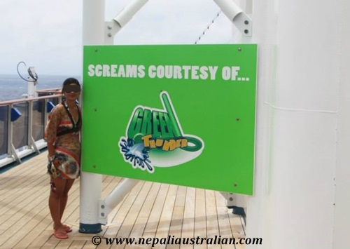 Water Park and Green Thunder on board Carnival Cruise (12)