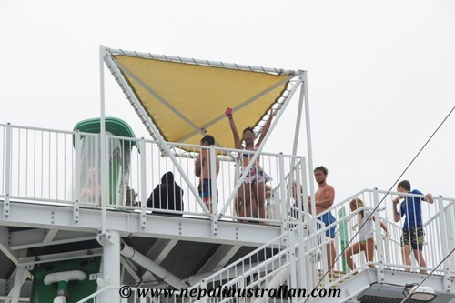 Water Park and Green Thunder on board Carnival Cruise (17)