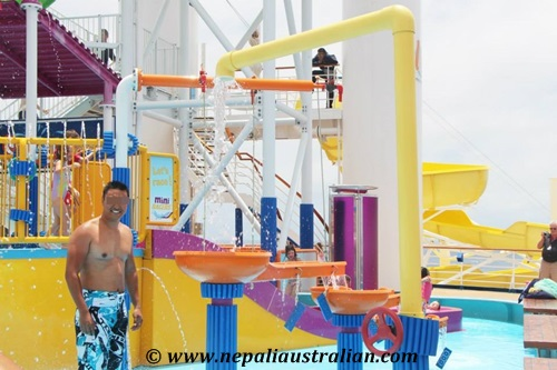 Water Park and Green Thunder on board Carnival Cruise (22)