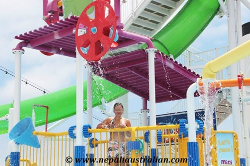 Water Park and Green Thunder on board Carnival Cruise (27)