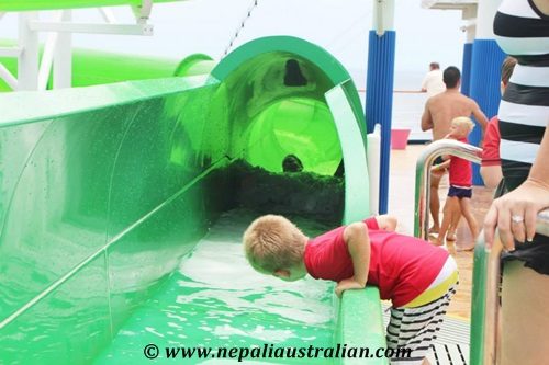 Water Park and Green Thunder on board Carnival Cruise (28)