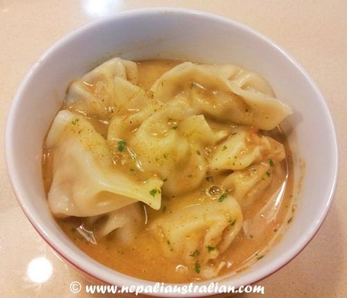 Jhol momo soup (7)
