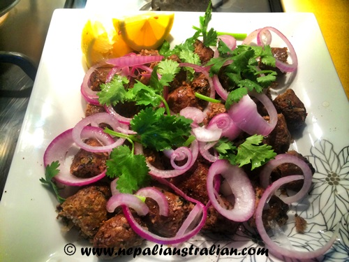 Lamb Seekh Kebab (2)