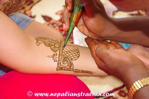 Mehendi Ceremony S List : Our story mehendi ceremony part nepaliaustralian