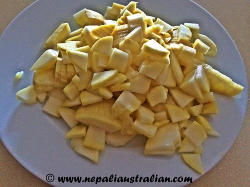 Sweet mango pickle (1)