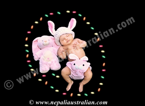 Easter Bunny Meekha