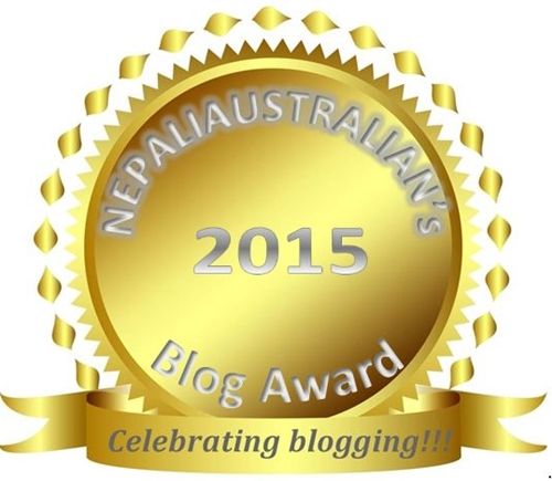 nepaliaustralian blog award 2015
