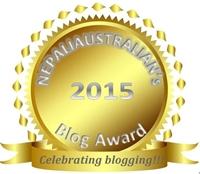 nepaliaustralian blog award 2015_small