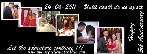 Happy th anniversary nepaliaustralian