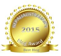 nepaliaustralian s blog award 2015 winners announced nepaliaustralian. Black Bedroom Furniture Sets. Home Design Ideas