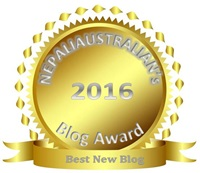 Best New Blog 2016 Award